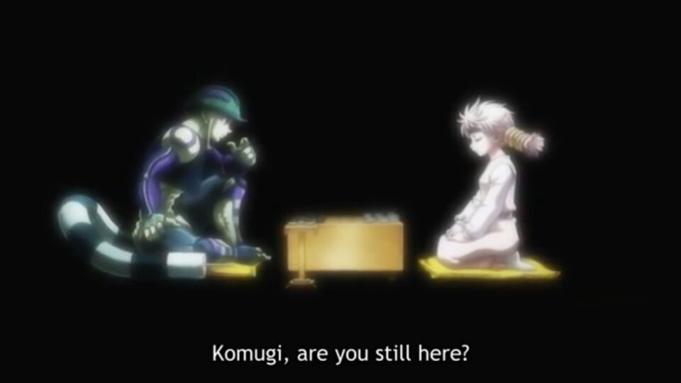 The True Meaning Of Meruem And Komgui S Final Gungi Game Anime Amino It is basically a way more complicated variation of chess. meruem and komgui s final gungi game