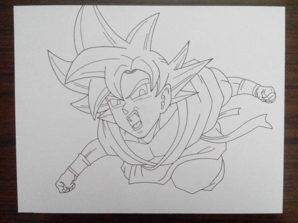 Goku Super Saiyan God Mipropioarte Dibujarte Amino