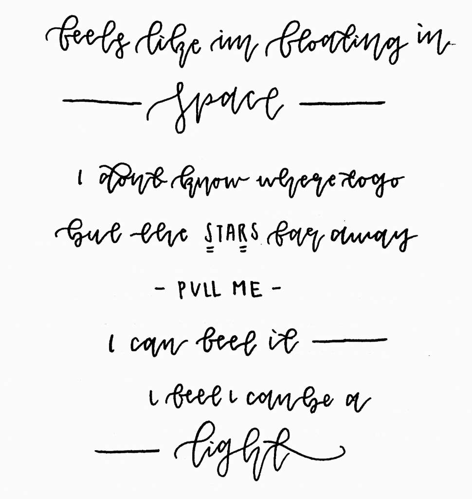 seventeen lyric calligraphy 2 carat 캐럿 amino