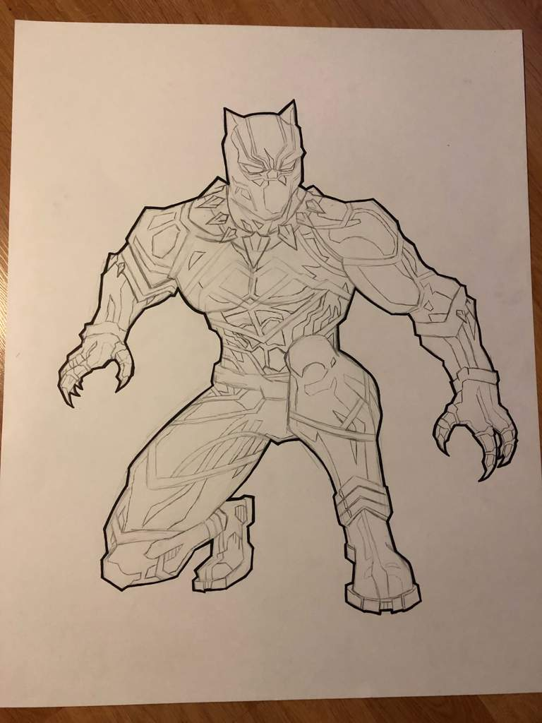 Black outline around the drawing user uploaded image