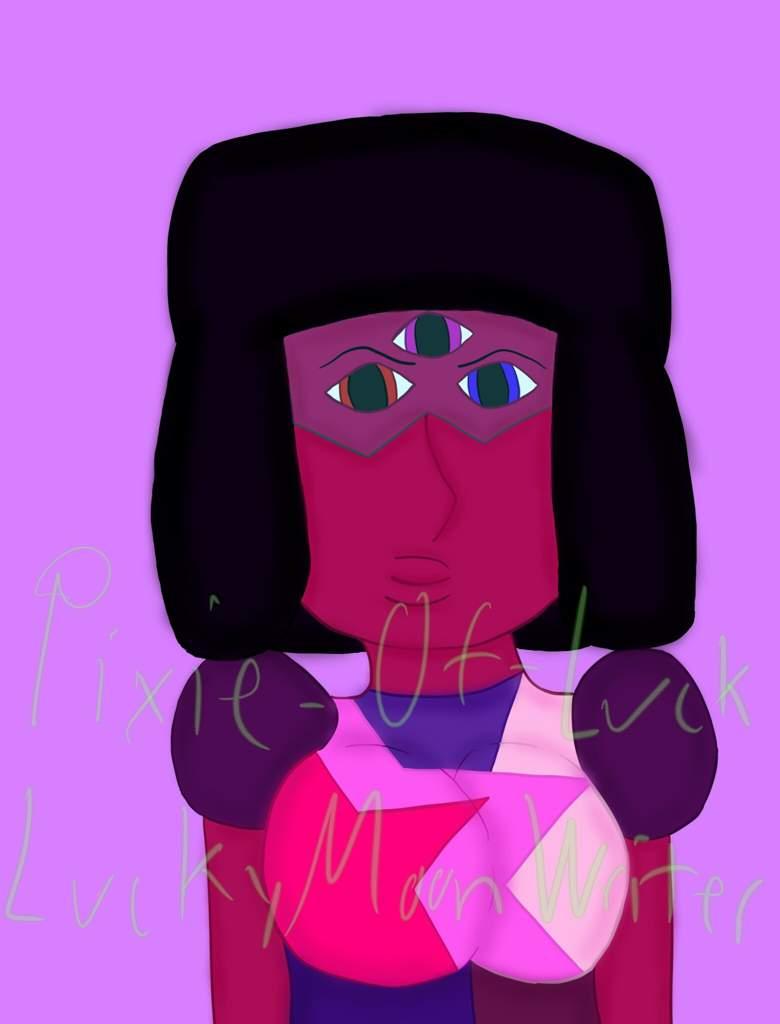 Garnet Digital Art Steven Universe Amino