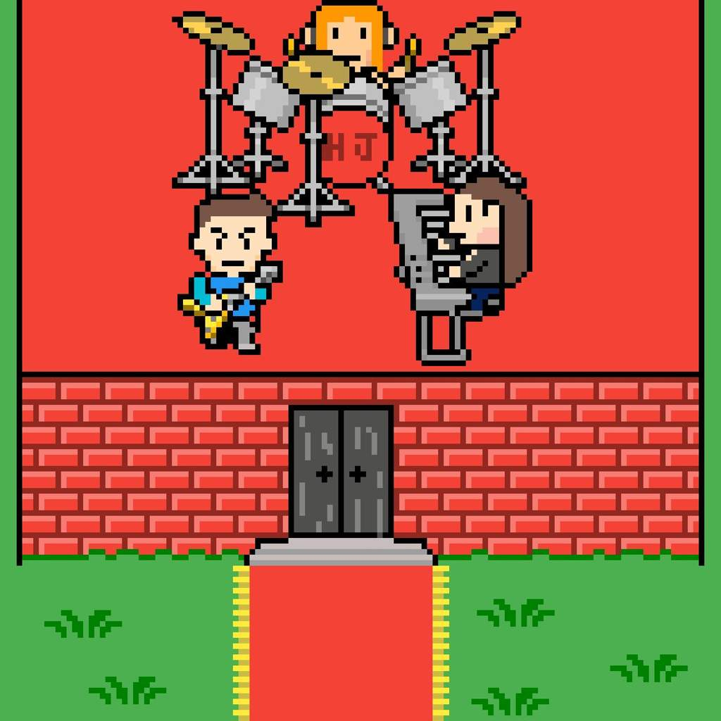 Happy Jack band in Earthbound/mother 3 style   EarthBound Amino