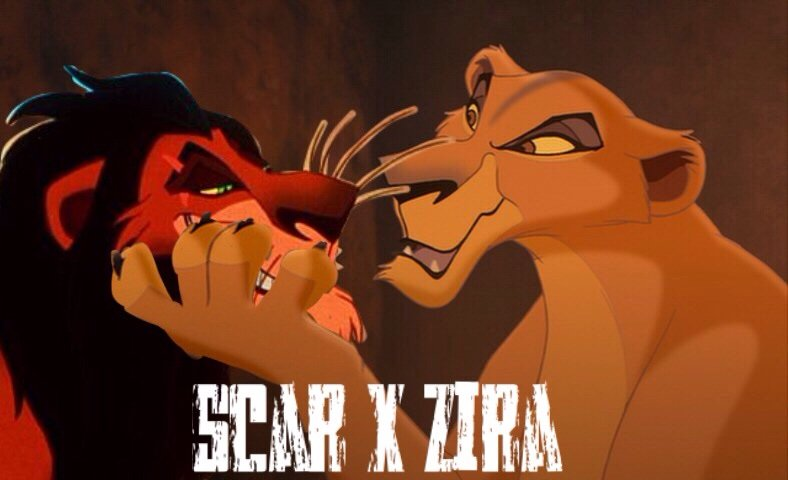 Zira and Scar | Shipper Nation Amino