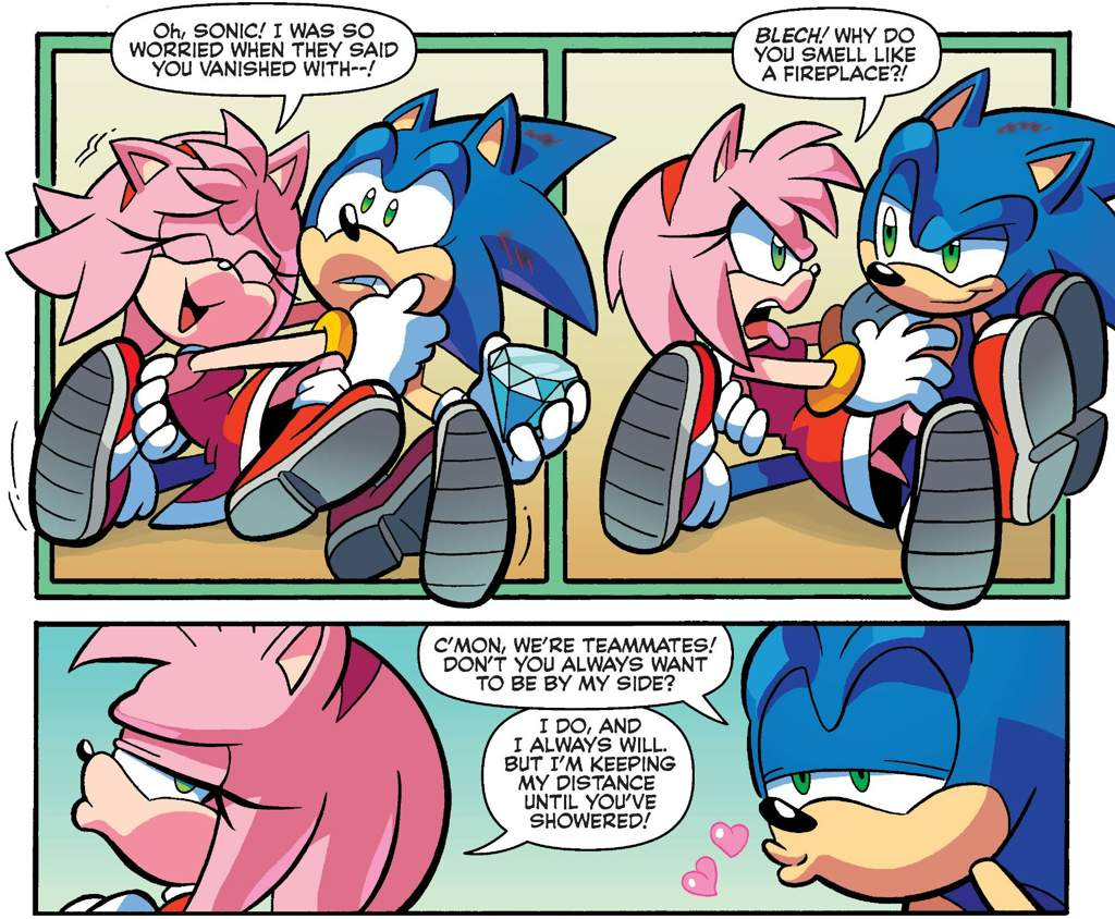 The Kind of Sonic And Amy Interaction I Like To See   Sonic the Hedgehog! Amino