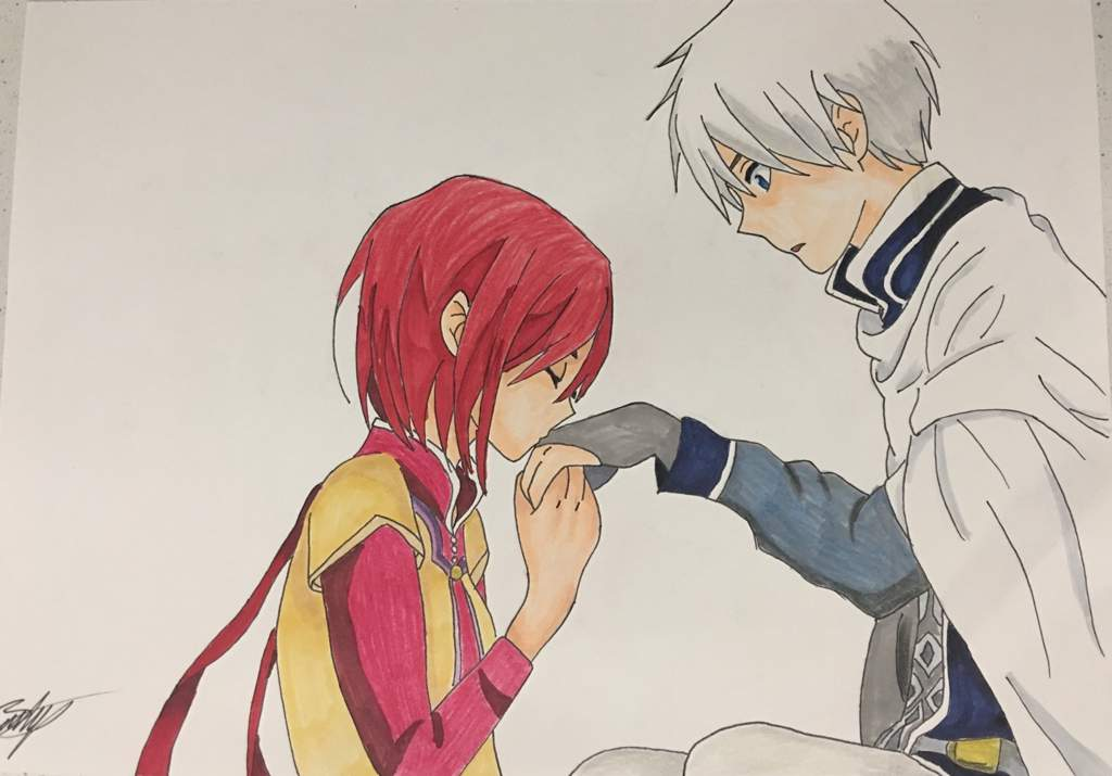 Snow White With The Red Hair Shirayuki Zen Fan Art