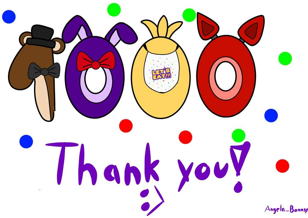 THANK YOU SOO MUCH ON 1000+ FOLLOWERS!!!!