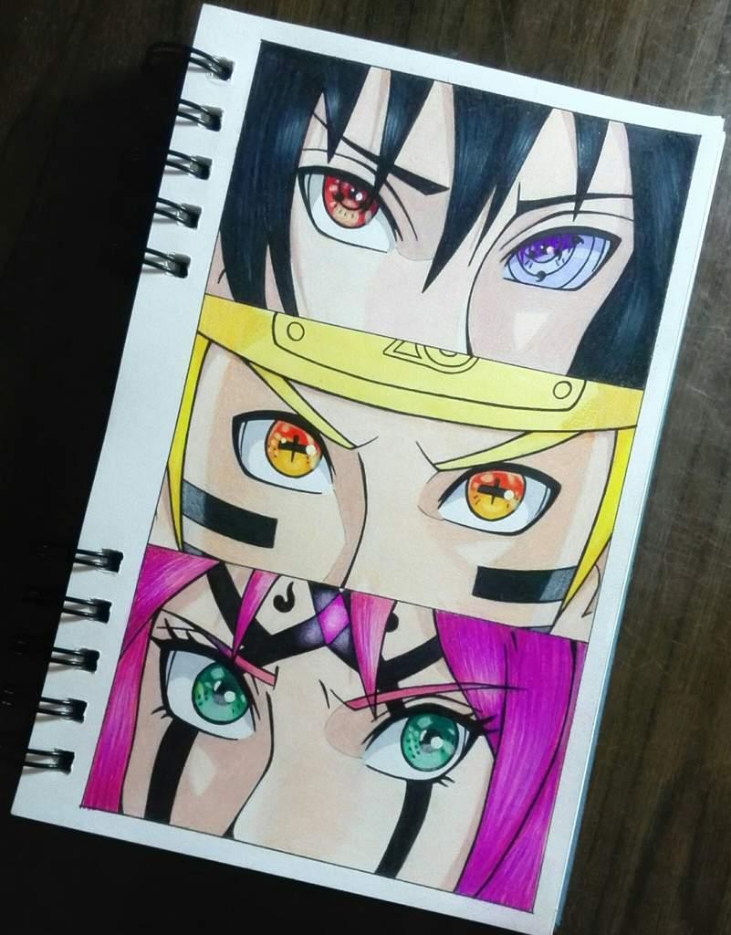 Equipo 7 Sasuke Naruto Sakura Dibujarte Amino