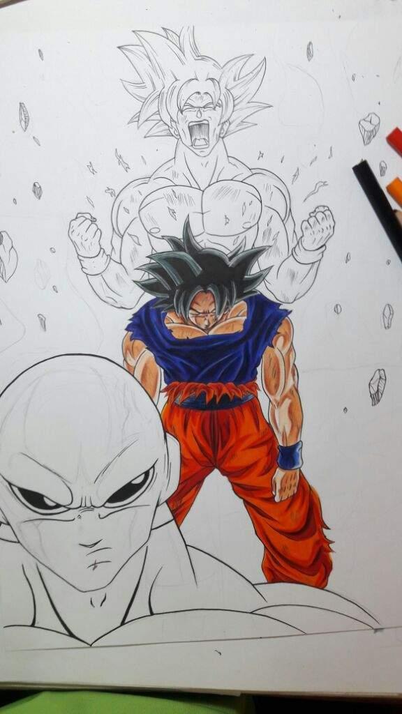 Dibujo De Goku Ultra Instinto Dominado Dibujarte Amino