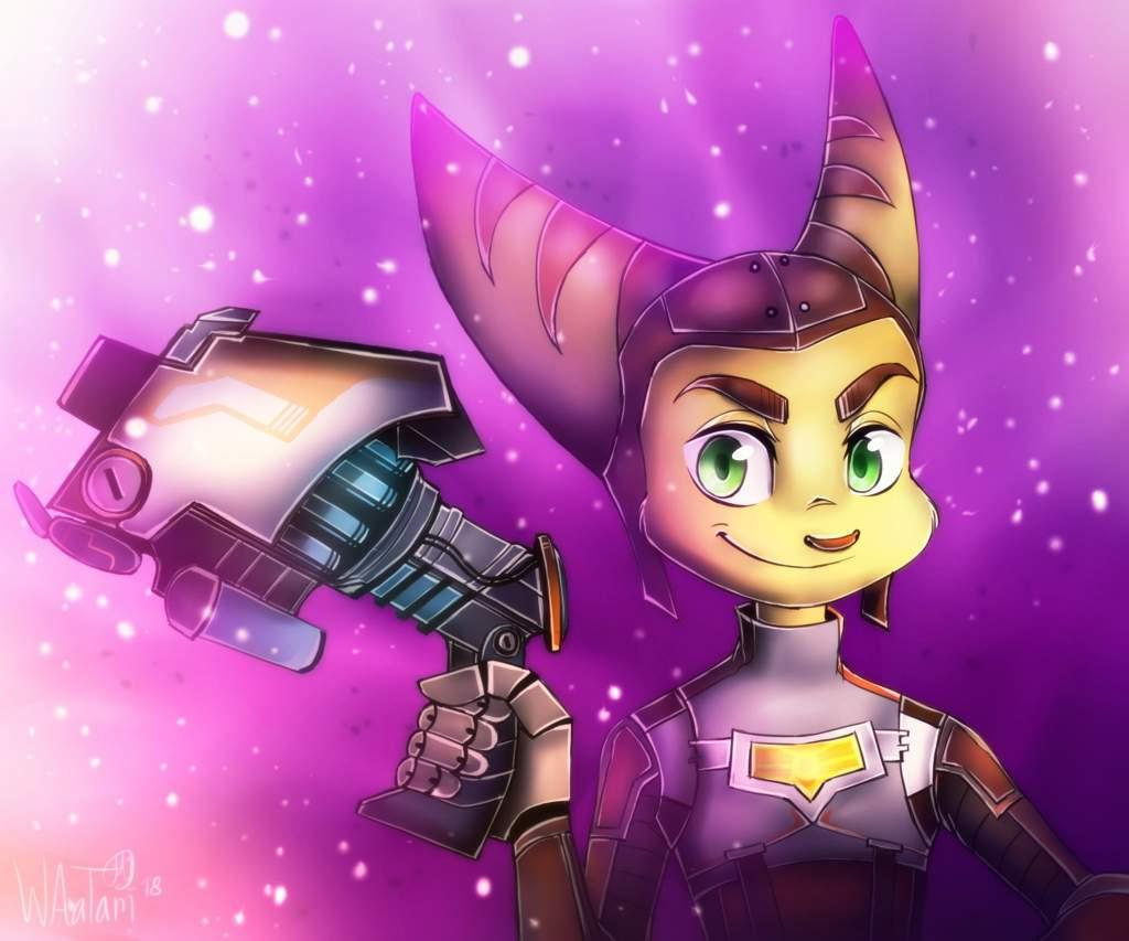 Into The Nexus Fan Art Ratchet And Clank Amino