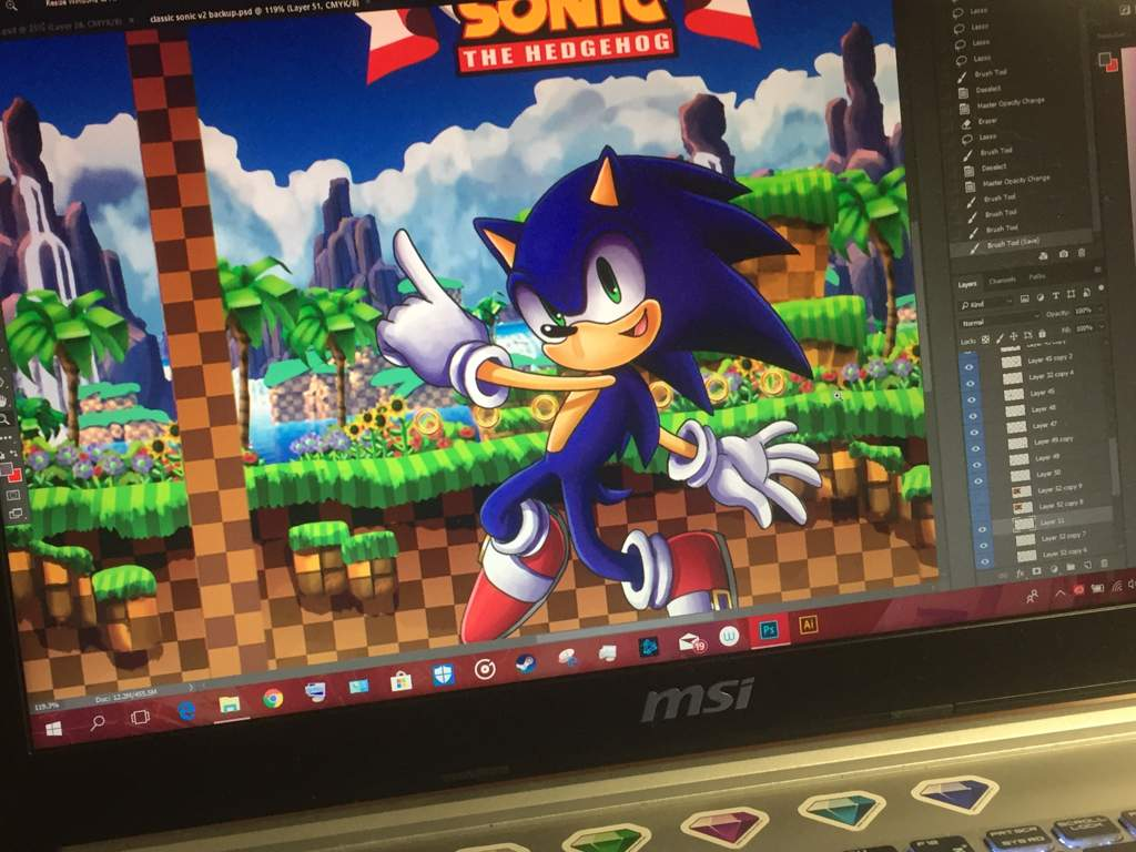 Sneak Peak Sonic The Hedgehog Amino Electronics Projects For Dummies A Work In Progress Of Book Cover My School Final Project It Took Me 2 Days To Paint Background Alone Sweat Smile