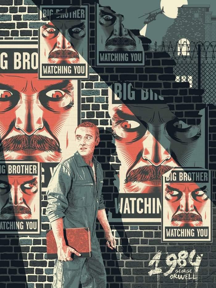 1984 George Orwell Psycho Pass Amino