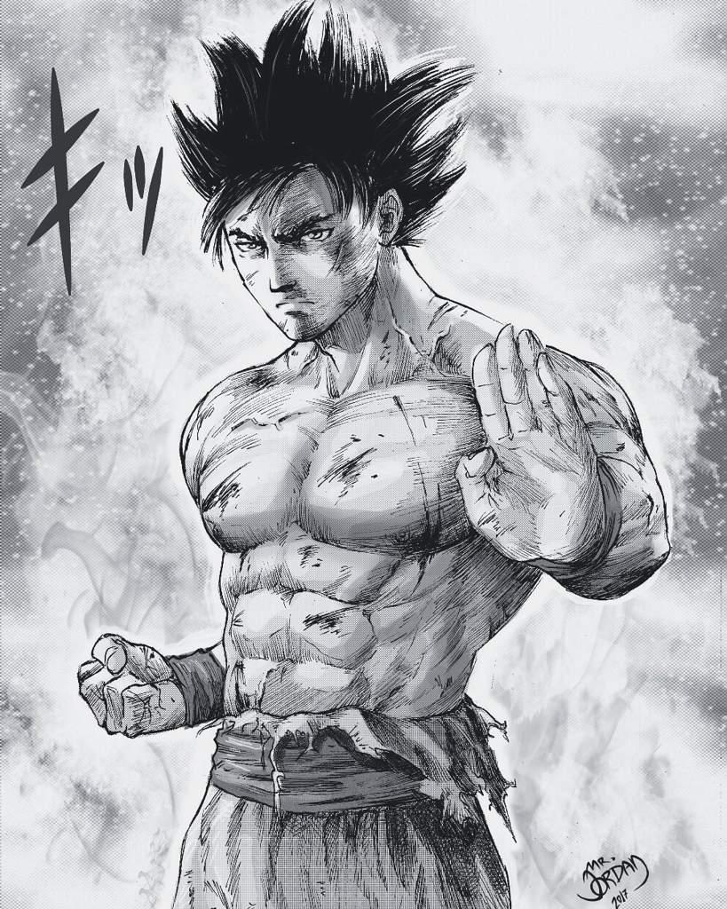 Goku Instinto Superior M Arte Amino