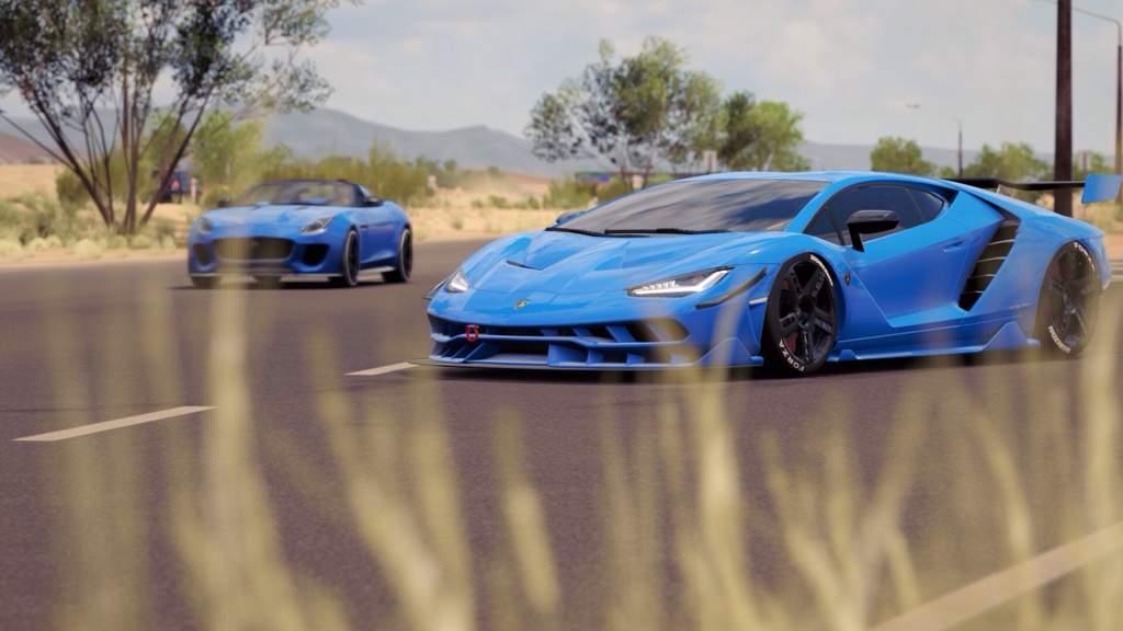Lamborghini Centenario Forza Horizon Amino