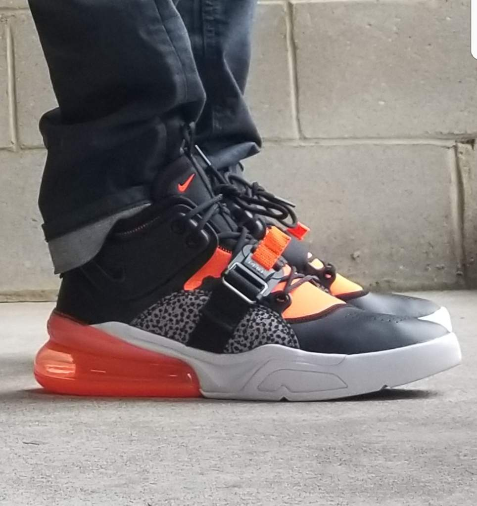 065cf435b4ae17 I like the look and feel of the shoe. It s got hits of the iconic elephant  print on this version with a nice black leather toebox and hyper crimson  for the ...