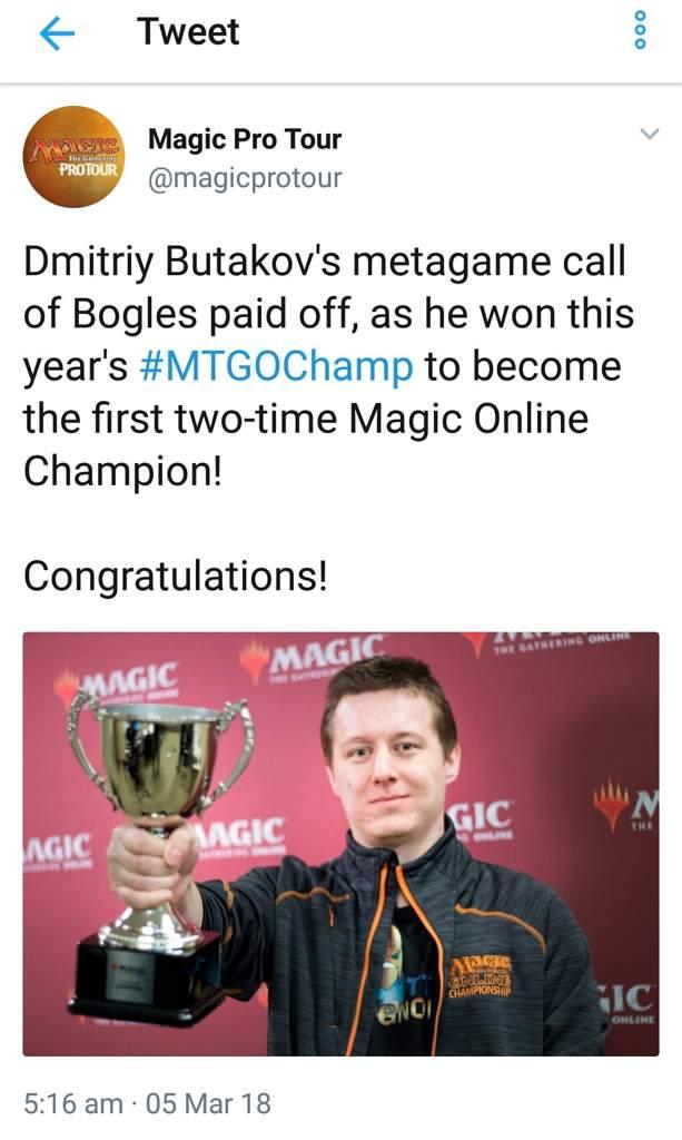 Butakov wins the Magic Online Championship! | MTG Amino