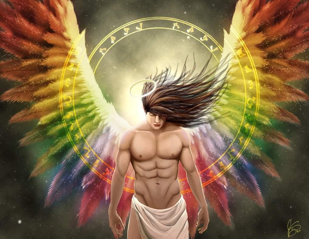Картинки с ангелами мужские