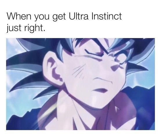 Ultra Instinct Meme Dragonballz Amino