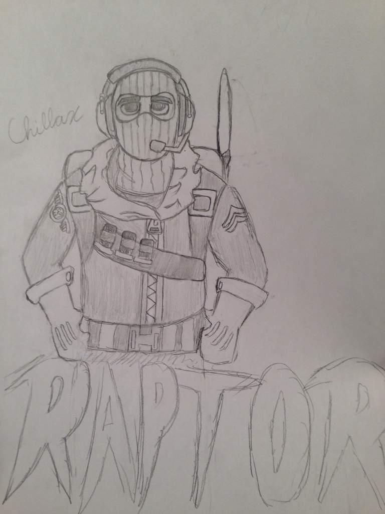 Raptor Drawing First Post Fortnite Battle Royale