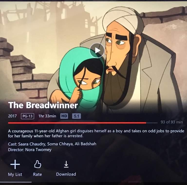 The Breadwinner   Cartoon Amino