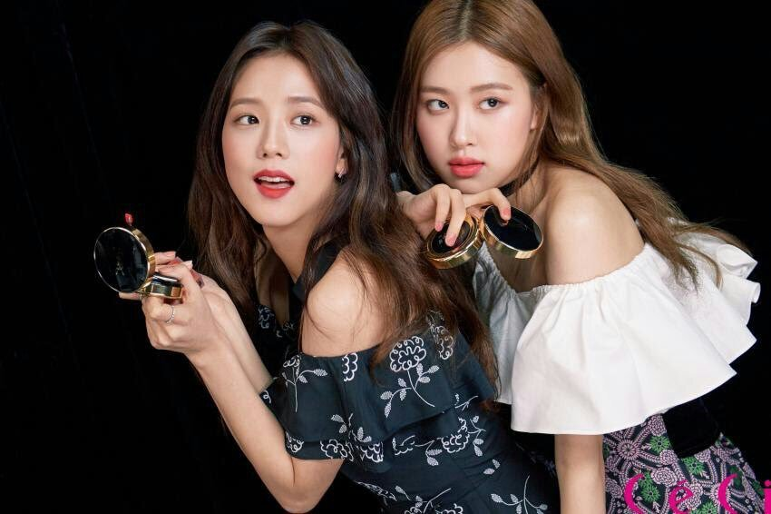 Jisoo Rose Ceci Korea Magazine March 2018 Issue New Photos
