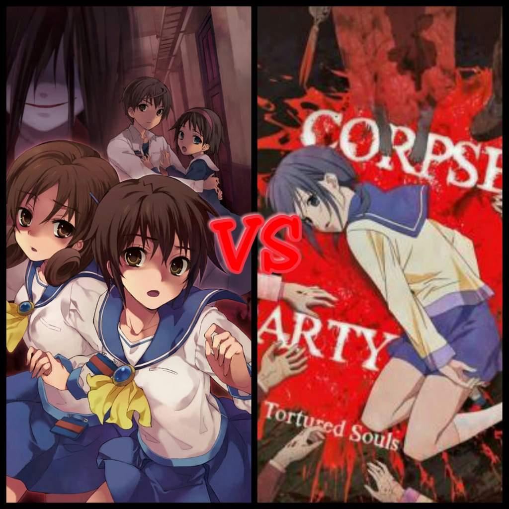 Corpse Party Game Vs Anime Adaptation Anime Amino
