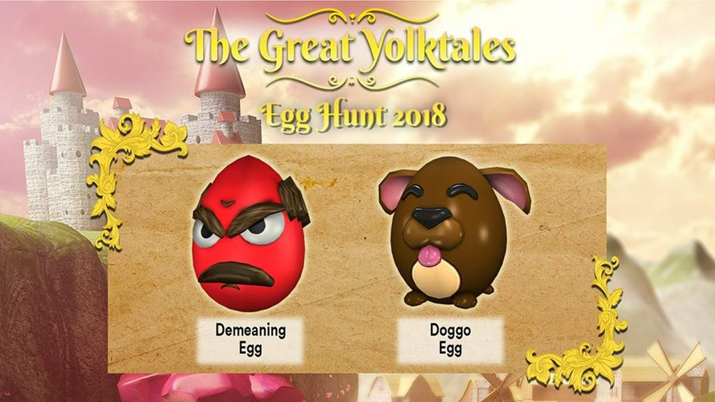 The Left Egg Is Called Demeaning And Right Doggo A Dog Ummm I Think