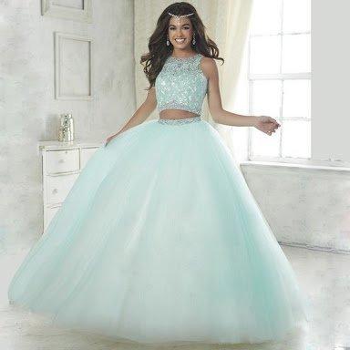 6989bbc62 👗 vestidos de 15 años de blusa y falda. | Moda, Belleza y Fitness Amino