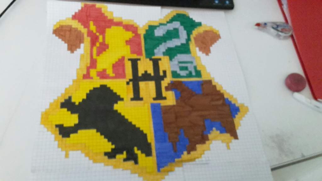 Poudlard Pixel Harry Potter Fr Amino