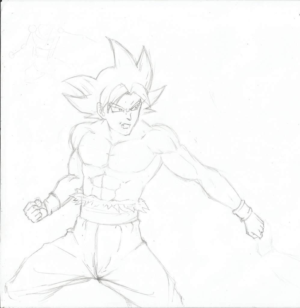 Goku Ultra Instinto Perfecto Vs Jiren Arte Amino Amino