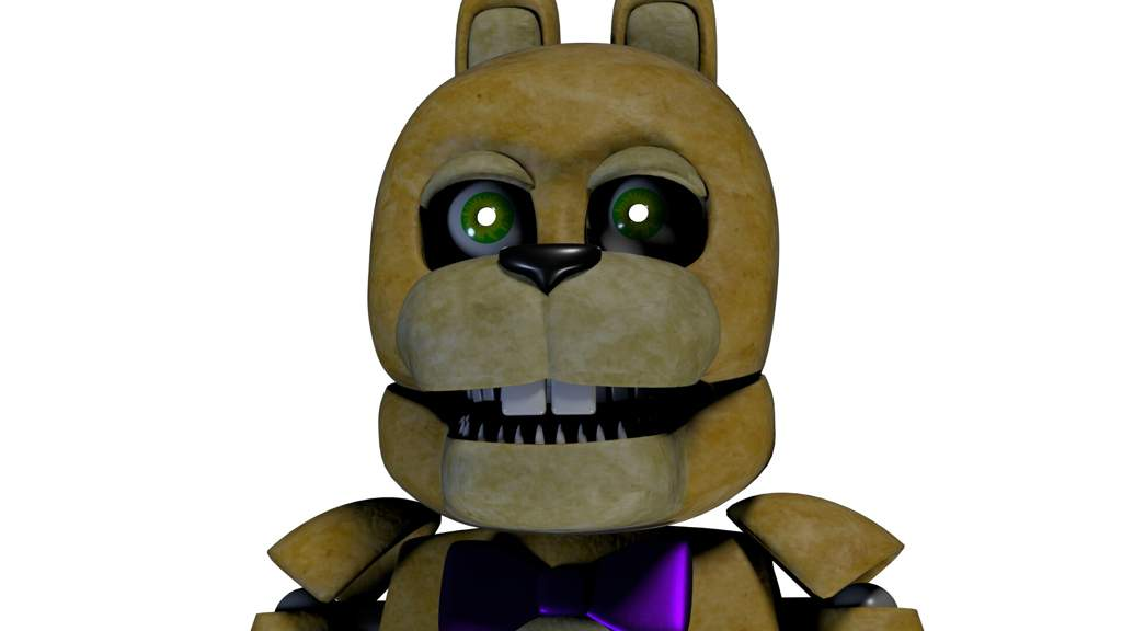 SpringBonnie/Un-Withered Scraptrap model | Five Nights At