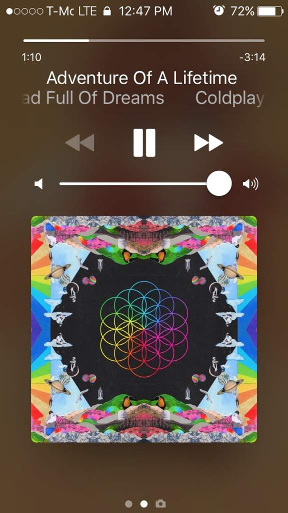 Song oof the day 7- Hymn for the weekend- Coldplay FT