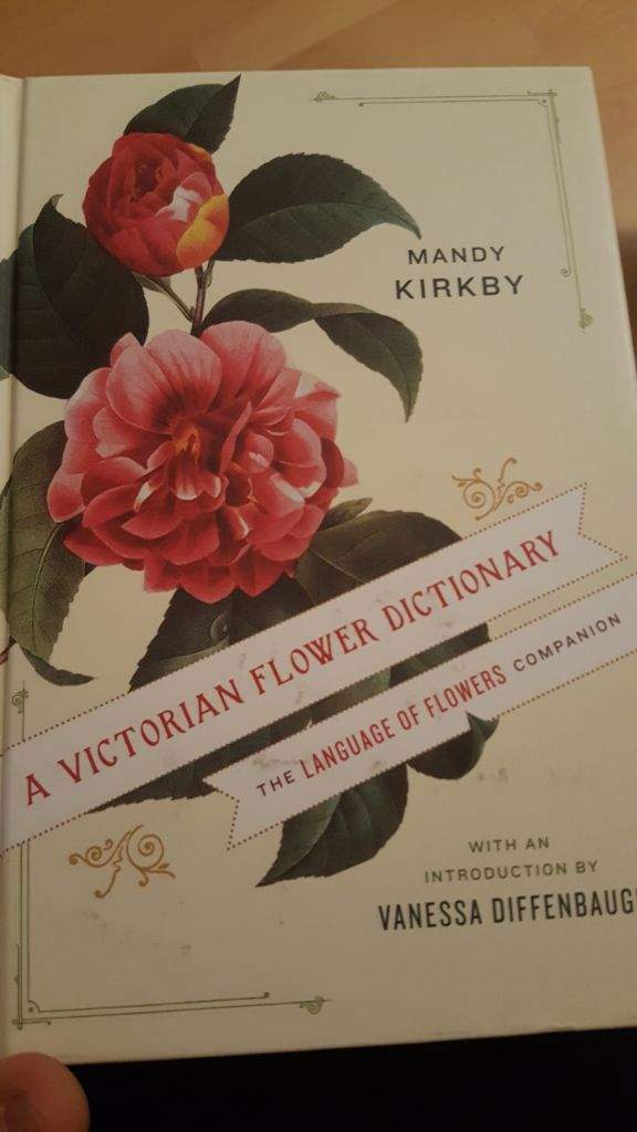 Going For A Victoria Flower Dictionary Was Realy The Best Choice It S Not Very Thick But Looking At This Seems Efident That Cheritz Went An