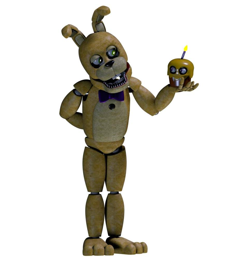 SpringBonnie/Un-Withered Scraptrap Model