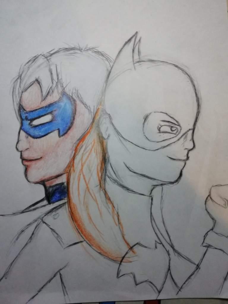 Dibujo paso por paso de Batgirl y Nightwing de Rebirth | ◇ Marvel ...