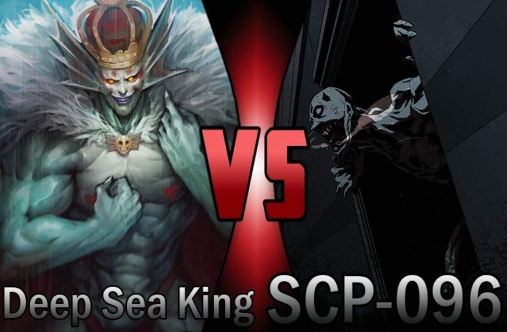 SCP-096 Vs Deep Sea King | Battle Arena Amino Amino