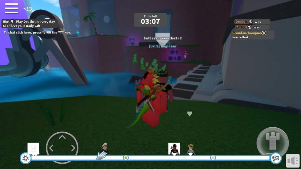 Roblox Deathrun Tips Death Run Review Roblox Amino