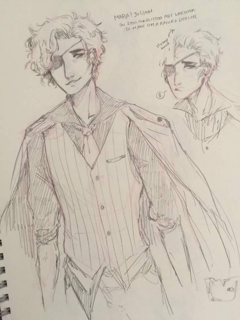 Mafia Au Julian The Arcana Visual Novel Amino With
