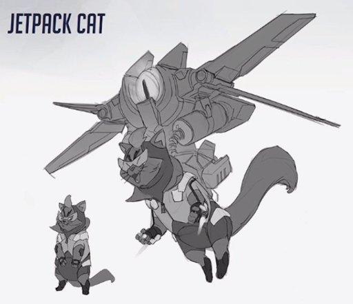 Jetpack Cat | Wiki | Overwatch Amino