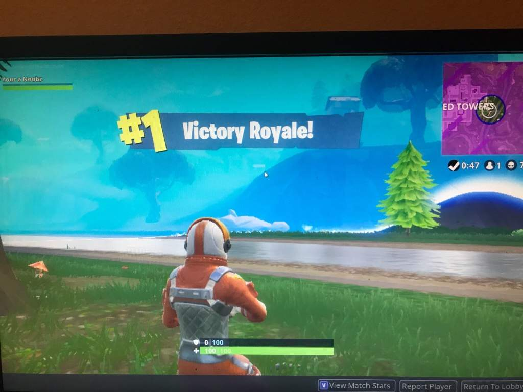 Got My First Ever Win On Fortnite 7 Kills Took Me 3 Weeks