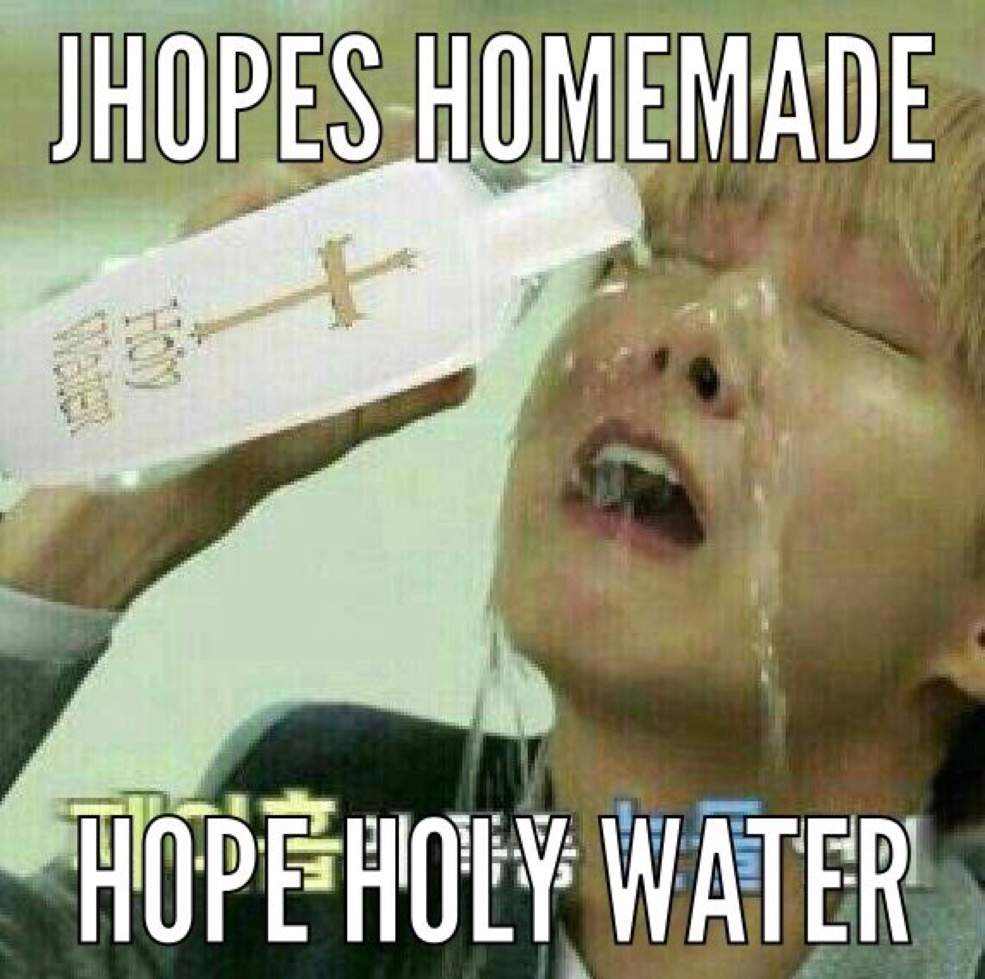 Holy Water Meme