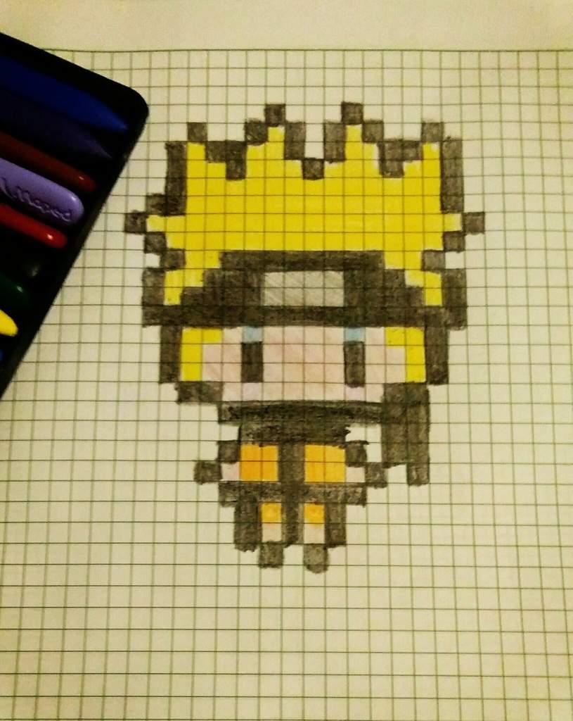 Kawaii Naruto Pixel Art Naruto Amino