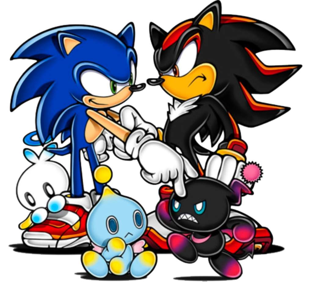 Shadow is 50 but not physically 15 everybody | Sonic the