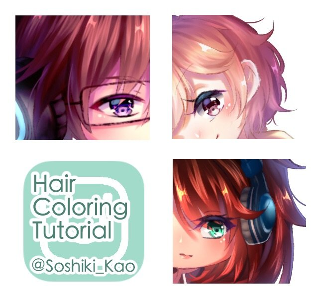 Digital Soft Hair Coloring Tutorial | Anime Art Amino