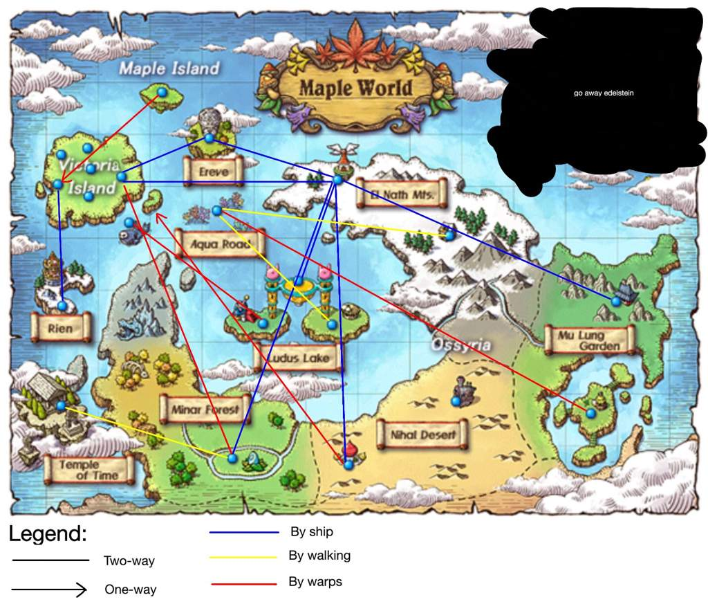 Transcontinental travel guide wiki maplestory amino first off heres a map showing all the possible ways to get around publicscrutiny Gallery