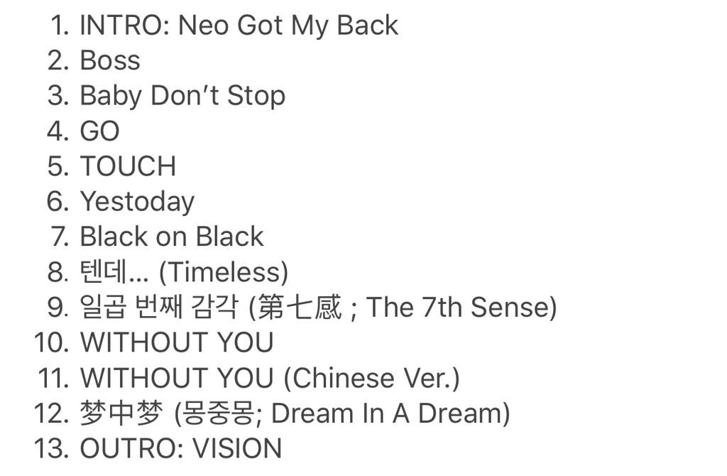 NCT 2018: Empathy Album Tracklist   SM Entertainment's Amino