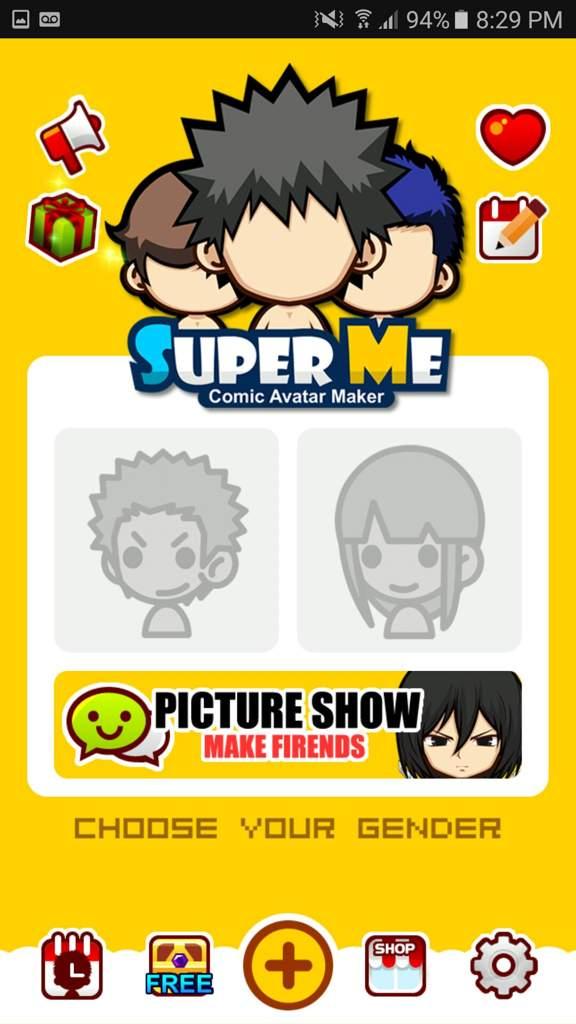 Crea avatares con *Super Mii* en pocos minutos  (Android