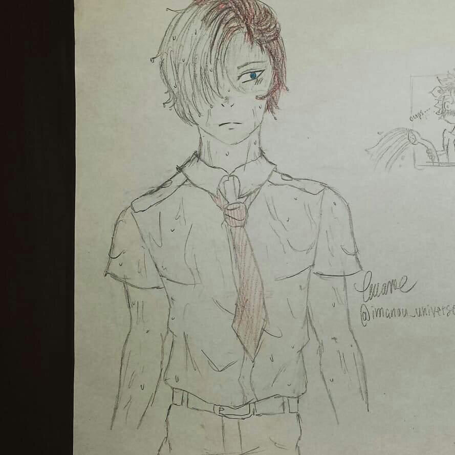 Todoroki Shoto Body Sketch Part 2 My Hero Academia Amino