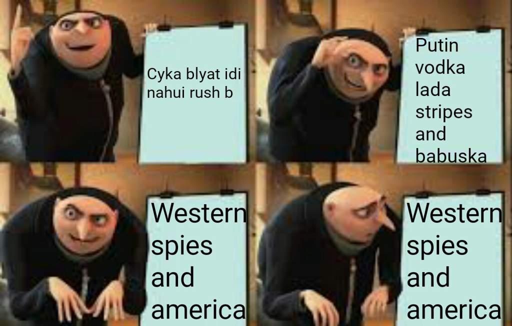 Russia Soviet Gru Plan Meme This Dank Memes Amino