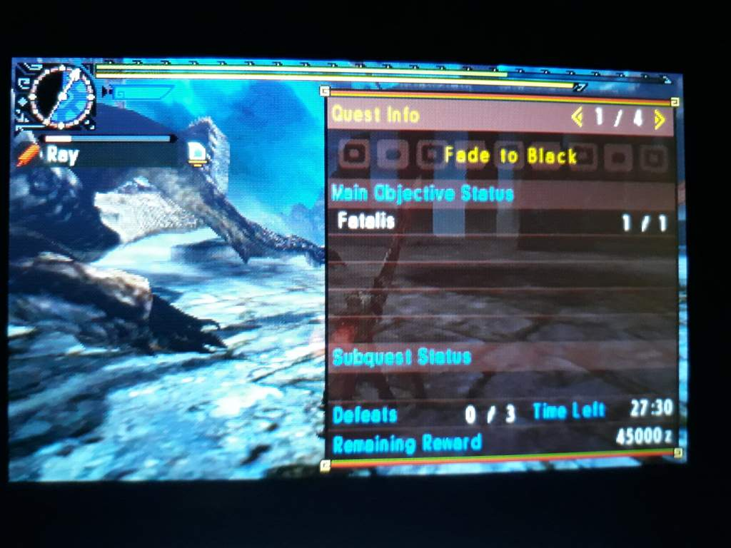 MHXX - Fatalis with elemental GS (practice) | Monster Hunter