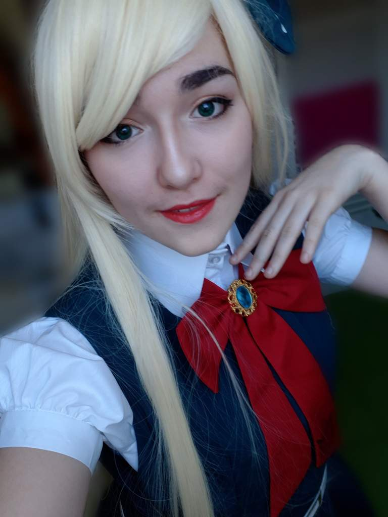 Sonia Nevermind cosplay! | Danganronpa Amino